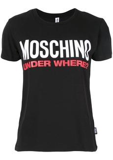 Moschino statement logo T-shirt