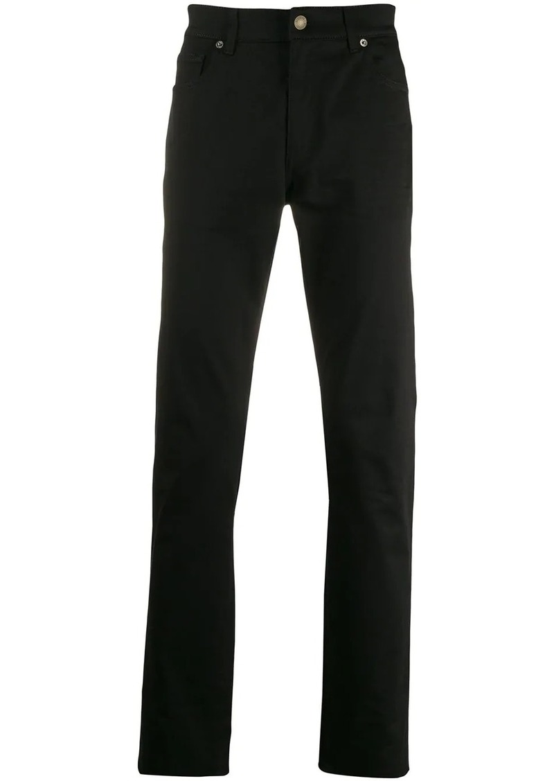 Moschino straight fit trousers