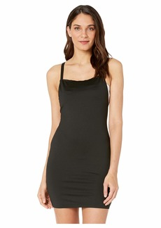 Moschino Straight Neck Dress Cover-Up