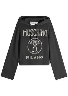 Moschino Stud Embellished Hoodie