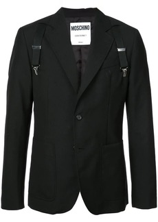 Moschino suspender blazer