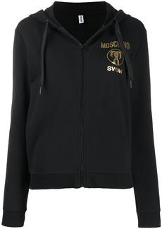 Moschino Swim zipped hoodie