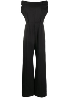 Moschino tailored off-shoulder jumpsuit