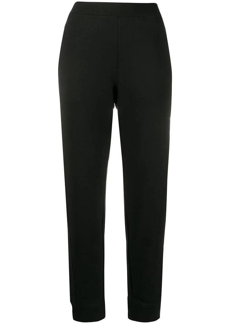 Moschino tapered leg track pants