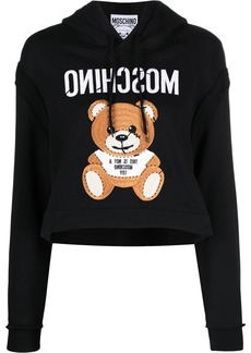 Moschino Teddy Bear-embroidered hoodie