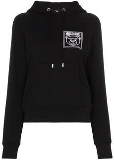 Moschino Teddy Bear embroidered hoodie