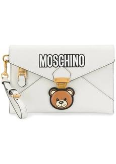 Moschino Teddy Bear envelope clutch