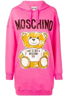 Moschino Teddy Bear hooded dress