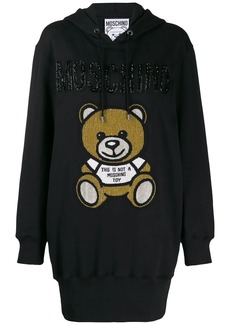 Moschino Teddy Bear hoodie dress