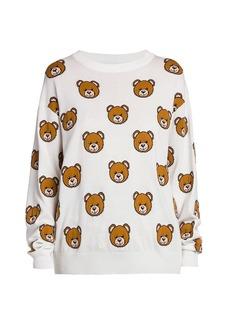 Moschino Teddy Bear Knit Sweater