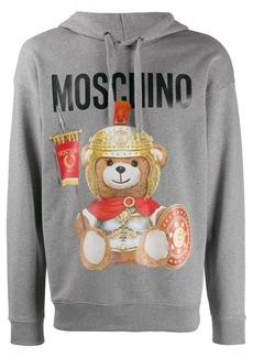 Moschino teddy bear logo hoodie