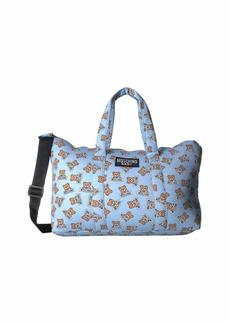Moschino Teddy Bear Logo Print Diaper Bag w/ Changing Mat