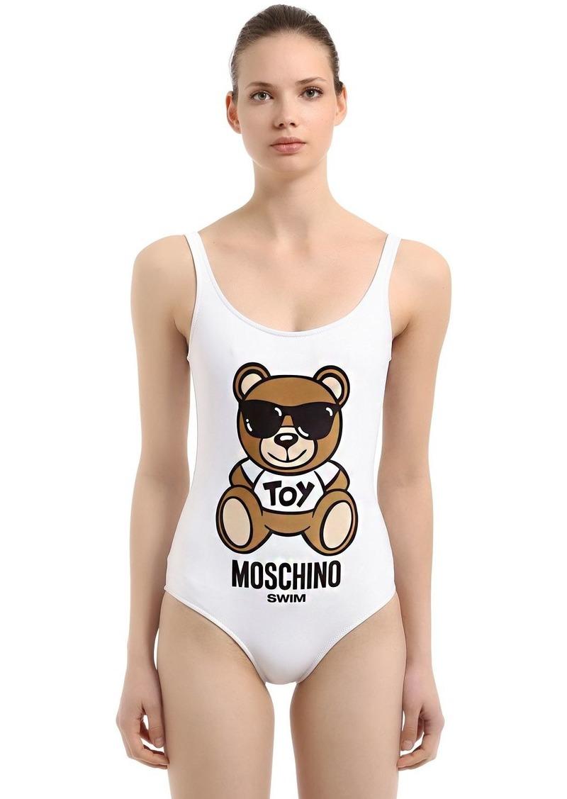8d487d552d3ae7 Moschino Teddy Bear One Piece Swimsuit | Swimwear