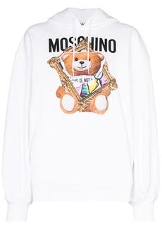 Moschino teddy bear-print hoodie