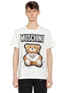 Moschino Teddy Bear Printed Jersey T-shirt