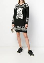 Moschino Teddy Bear sweater dress