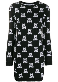 Moschino Teddy Bear sweatshirt dress