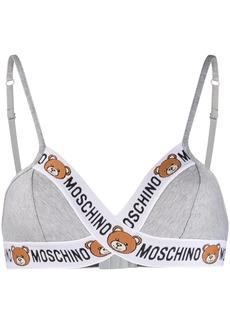 Moschino Teddy Bear triangle bra