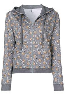 Moschino Teddy bear zipped sweatshirt