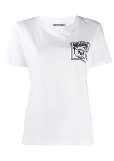 Moschino Teddy couture logo patch T-shirt