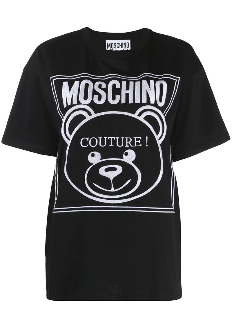 Moschino Teddy couture logo T-shirt