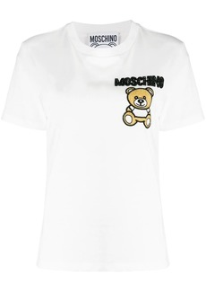 Moschino teddy embroidered T-shirt