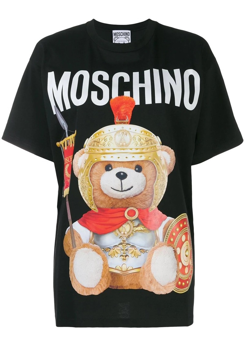 Moschino Teddy Gladiator print T-shirt