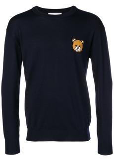 Moschino teddy logo jumper