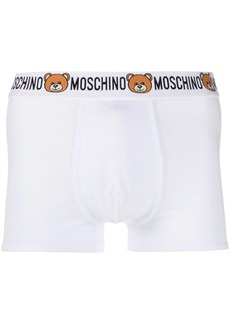 Moschino teddy logo print boxers