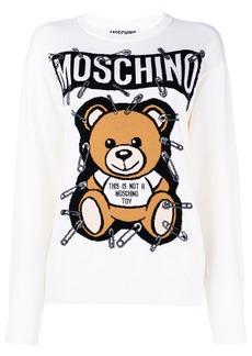 Moschino Teddy logo sweatshirt