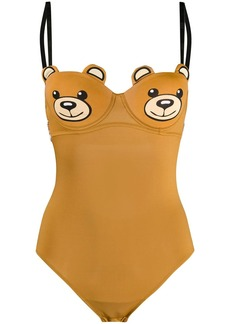 Moschino Teddy motif bodysuit
