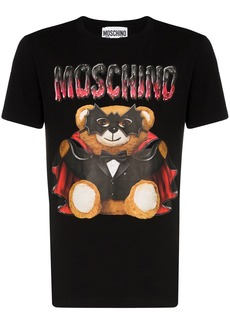 Moschino teddy-print cotton T-shirt