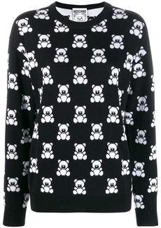 Moschino Teddy print jumper