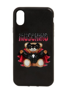 Moschino Teddy Printed Canvas Iphone X Cover