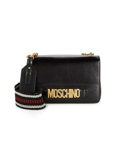 db86e80eac Moschino Textured Flap Leather Mini Bag | Handbags