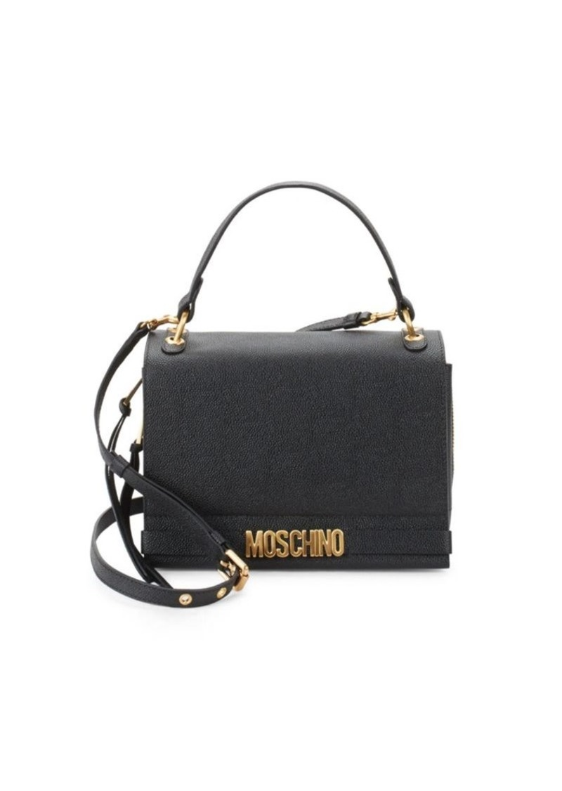 024b60fcaf Moschino Textured Leather Mini Bag | Handbags