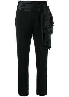 Moschino tie sash trousers