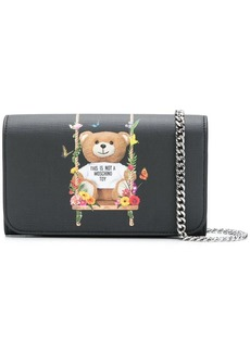 Moschino Toy bear chain wallet
