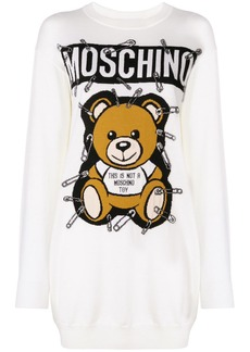 Moschino Toy Bear sweatshirt dress
