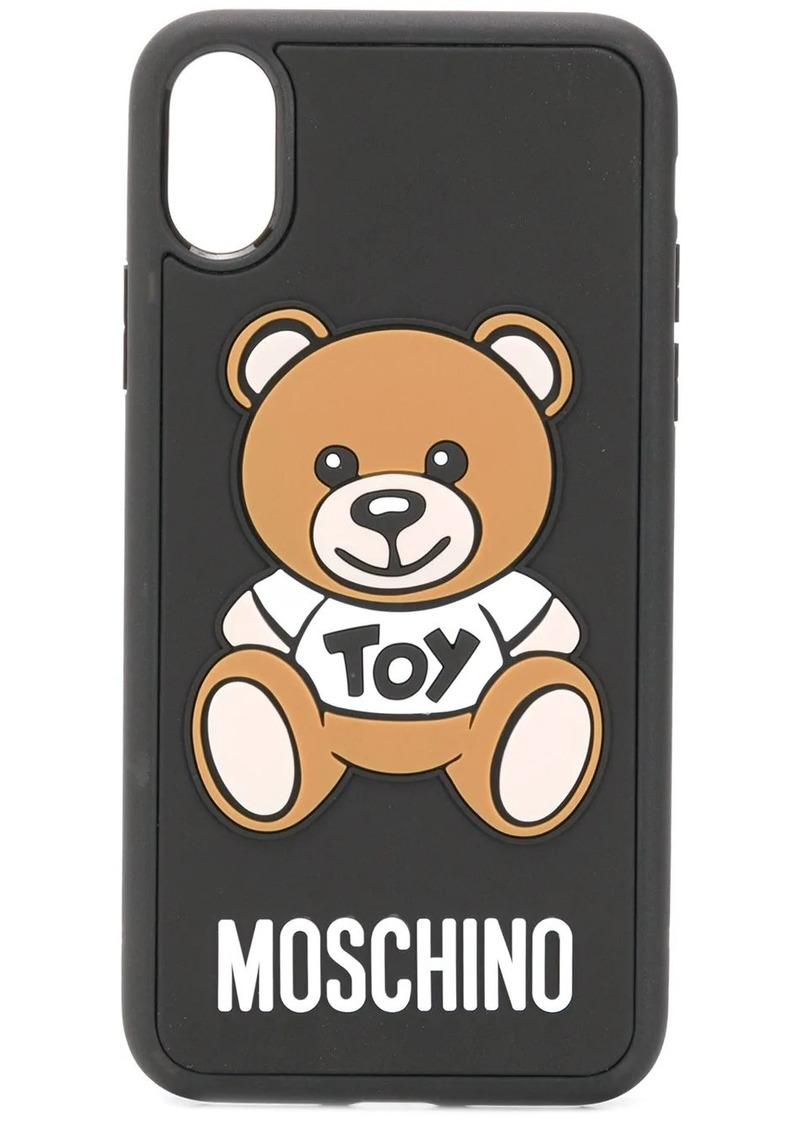 Moschino Toy Teddy Bear iPhone X/XS case
