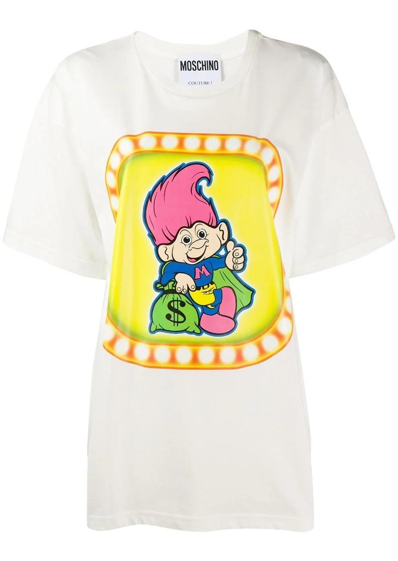 Moschino troll print T-shirt