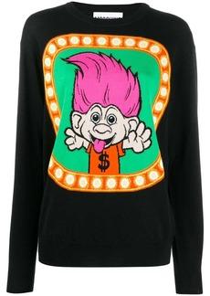 Moschino Trolls knitted sweater