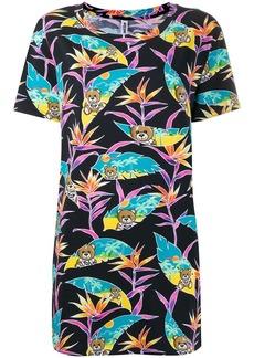 Moschino tropical teddy print T-shirt