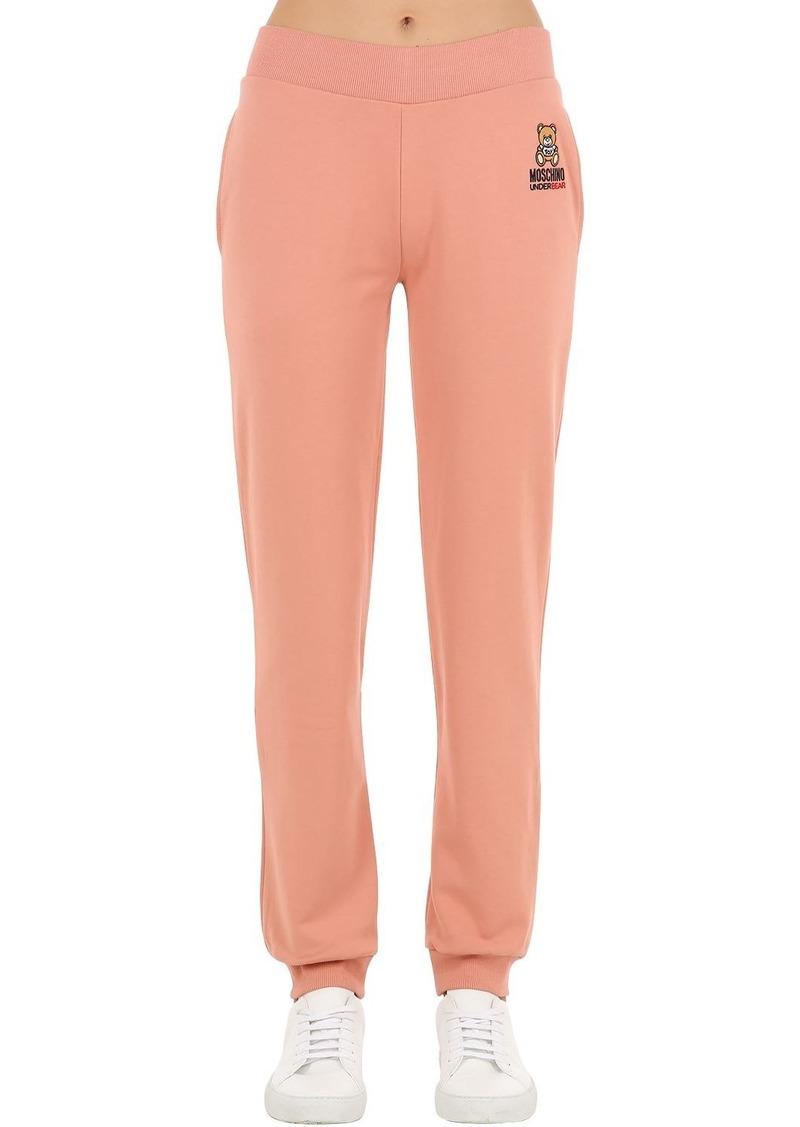 Moschino Underbear Cotton Sweatpants