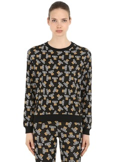 Moschino Underbear Cotton Sweatshirt