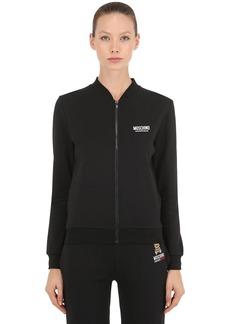 Moschino Underbear Zip-up Cotton Sweatshirt