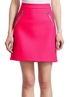 Moschino Zip Pocket Mini Skirt
