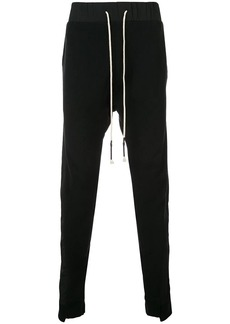 Mostly Heard Rarely Seen Asymmetrical seam track trousers