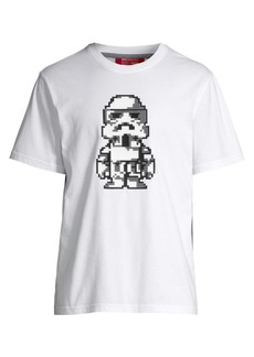 Mostly Heard Rarely Seen Follower Pixelated Graphic T-Shirt