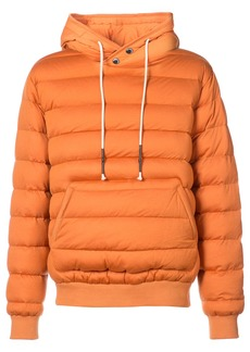 Mostly Heard Rarely Seen ribbed-edge padded hoodie